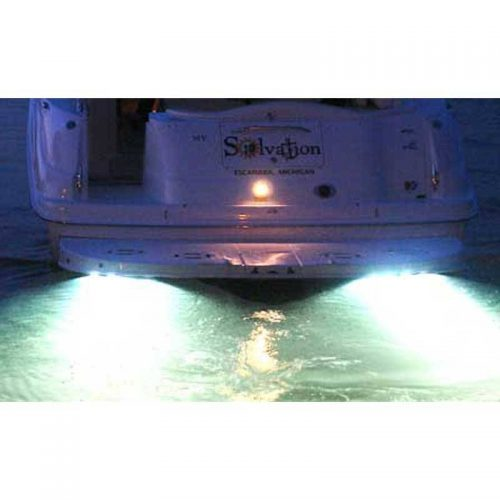 Halogen White Trim Tab Lights [in use]