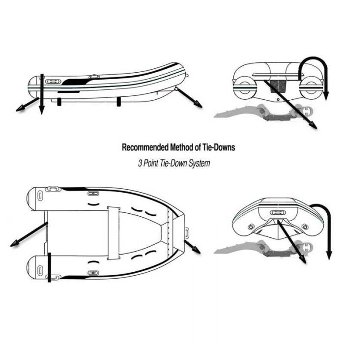 Davit Accessories [Tips]: Recommended Tie Down Method