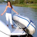 "Traditional Davit for Soft Bottom Dinghies with 6"", 8"", or 10"" Mounts: [HTD-1213P1]"