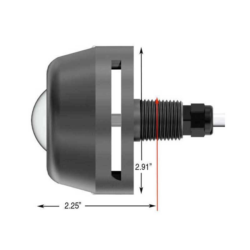 Hurley LED Drain Plug Light™ Measurements