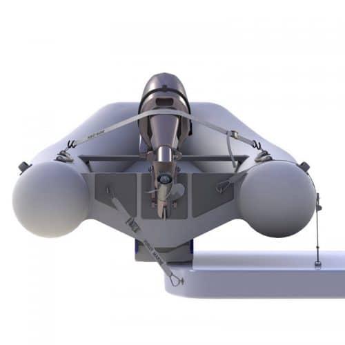 Hurley Marine H3O Dinghy Davit System Back