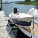 Hurley Marine Traditional Dinghy Davit System with 10 inch Mount