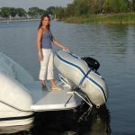 Hurley Marine Traditional Dinghy Davit System Launching