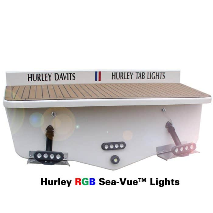 Hurley RGB Sea-Vue Boat Lights Installed
