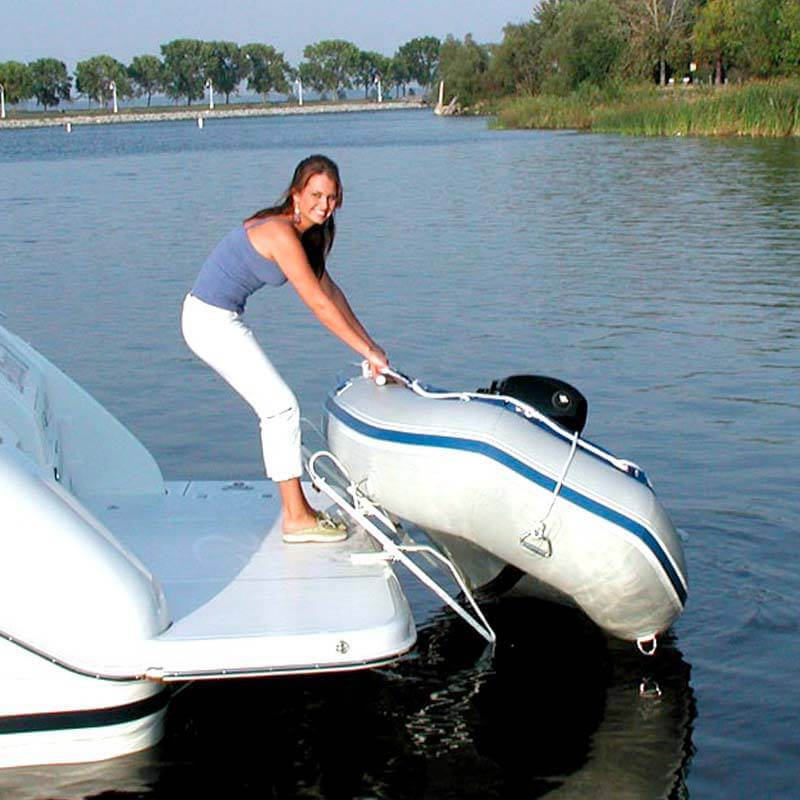 Dinghy Davits - Photo Gallery | Hurley Marine