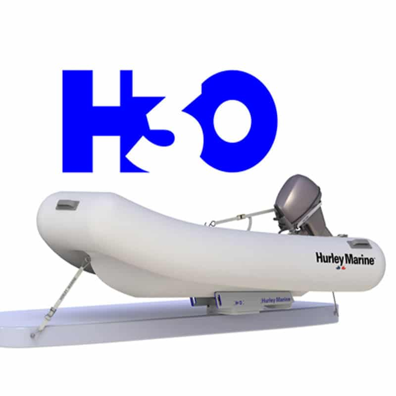 H3O Dinghy Davit Update