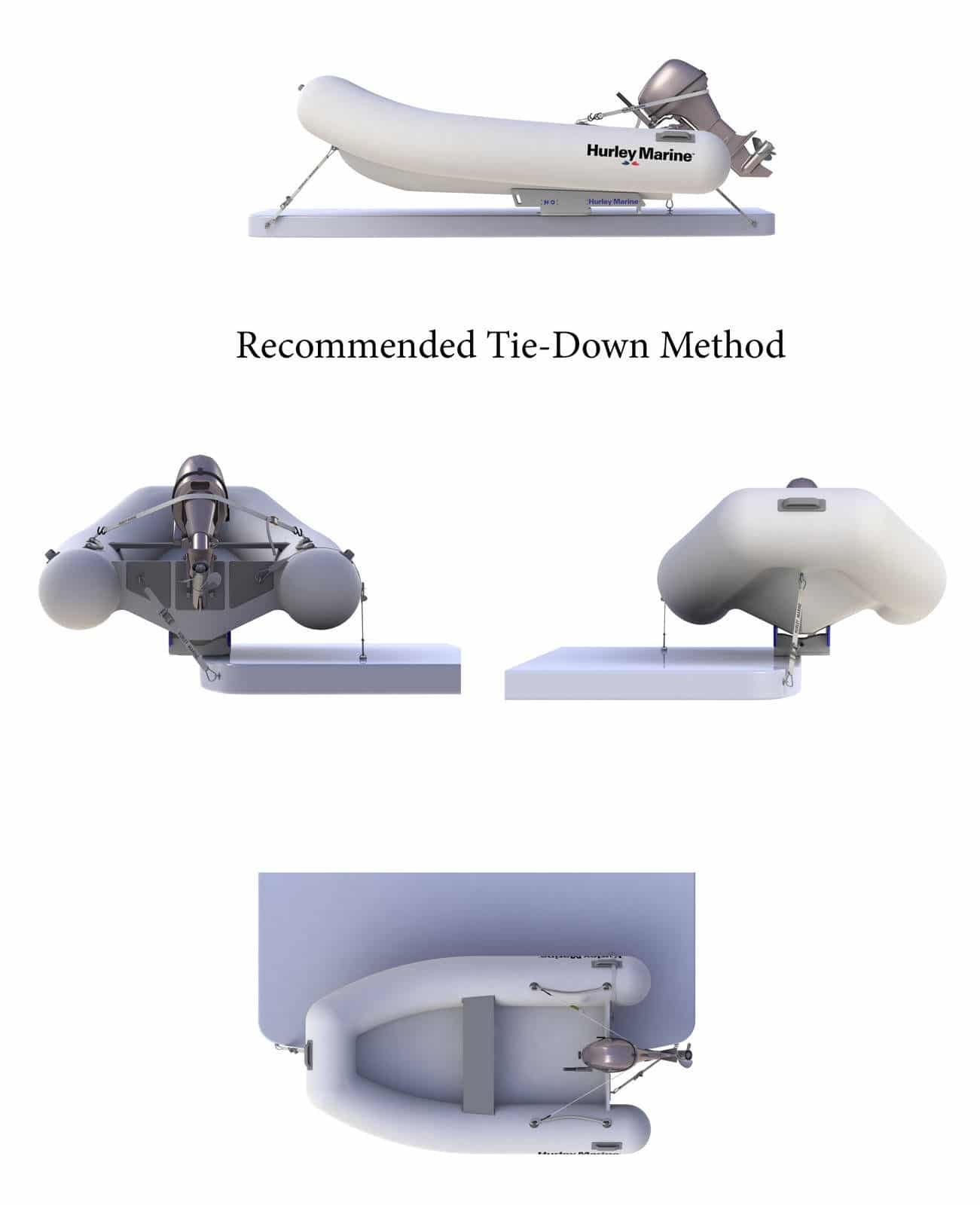 H3O Recommended Tie-Down Method