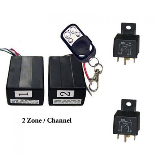Two Zone Remote Control