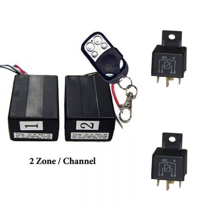 Two Zone Remote Control
