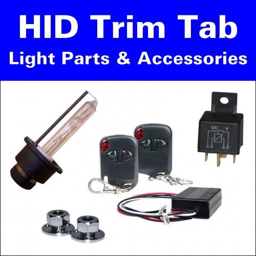 HID Trim Tab Light Parts & Accessories