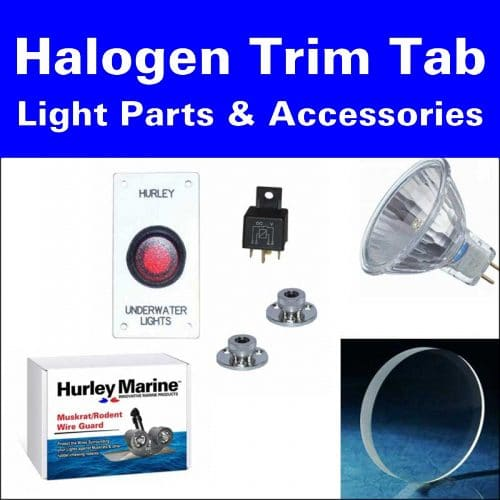 Halogen Trim Tab Light Parts & Accessories
