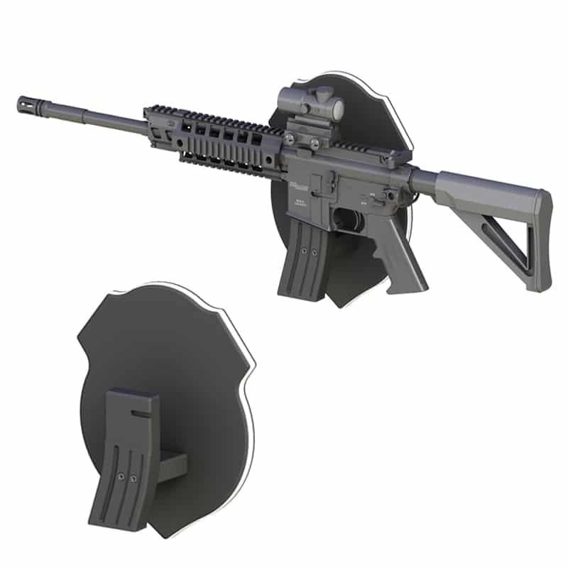 AR-15 Gun Display Stands