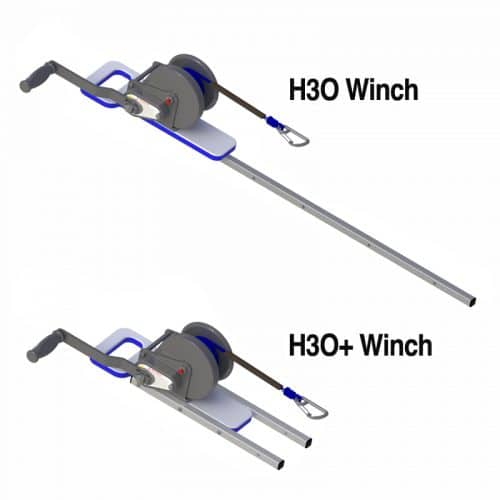 H3O Manual Winches