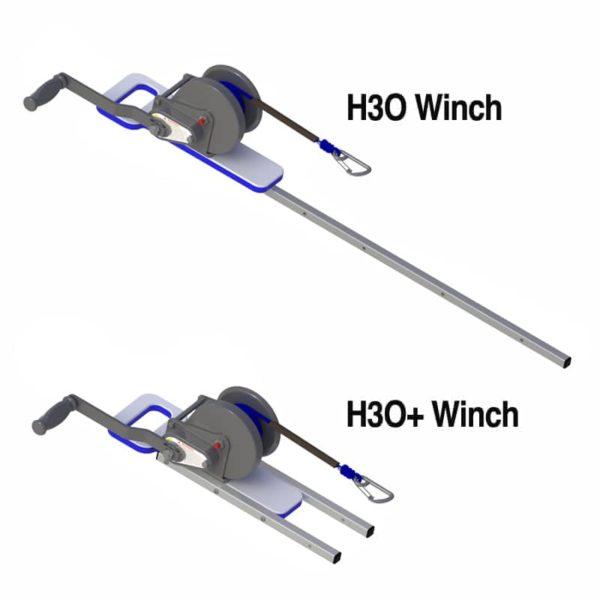 H3O Manual Winches