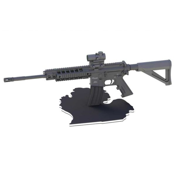 Lower Michigan AR15 Gun Stand