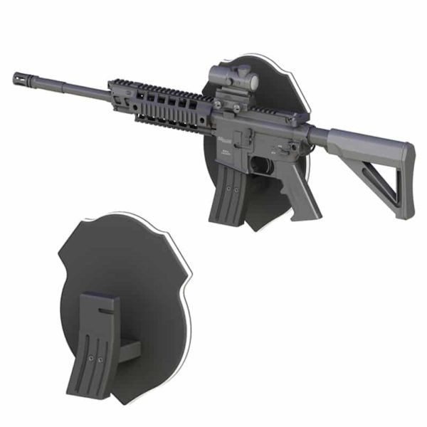 AR15 Plaque Wall Mount