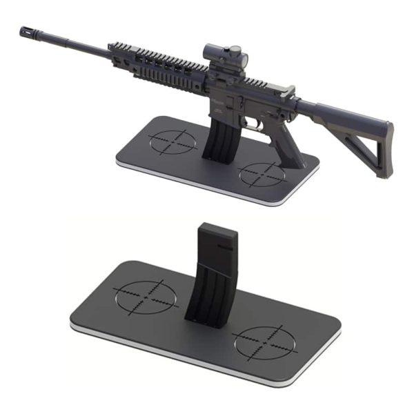 Rectangular AR!15 Gun Stand